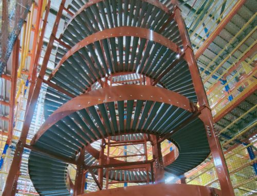 Gravity Spiral Conveyor