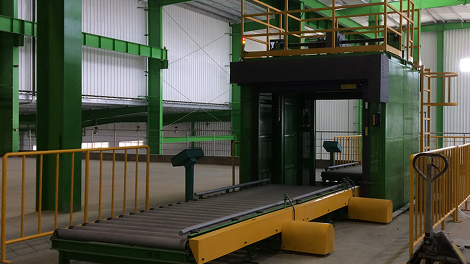 Vertical conveyor project