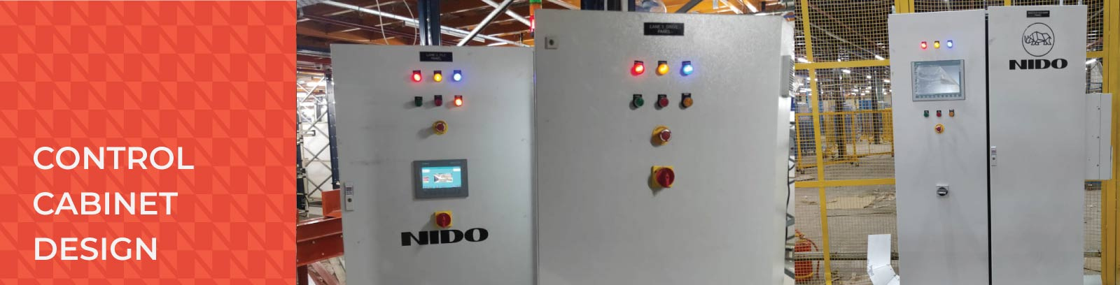 Control cabinet design